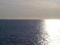 Sun Reflecting Off Ocean