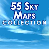 Set 040 - 55 Sky Maps