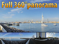 Spinaker Tower - 360° panorama