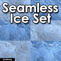 Set 015 - 12 Ice Textures
