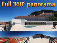 Outlook Lisboa - 360° panorama