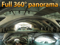 Oriente station - 360° panorama
