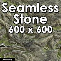Stone 016 - Mossy Stone