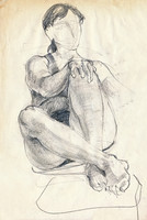 woman-s pose