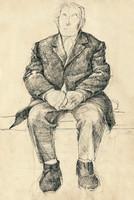 sitting man, no.1