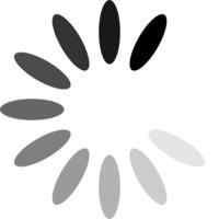 Ovals in circle preloader