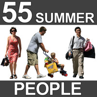 55 Summer People Textures