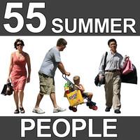 55 Summer People Textures