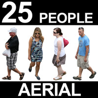 Aerial People Textures - Volume 2