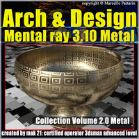 Arch e Design Collection Vol.2 Mental ray 3.10