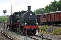Steam locomotive BR38