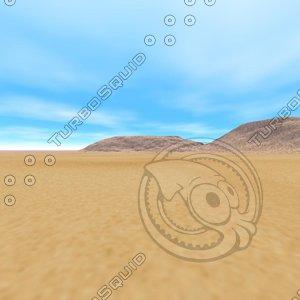Sand Scape Sky Box