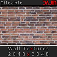 Brick Wall Tileable 2048x2048
