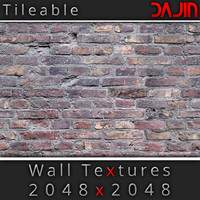 Brick Wall Tileable Nr 4