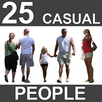 25 Casual People Textures - V2