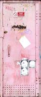 Pink Metal Door