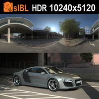 HDR 117 Parking Lot
