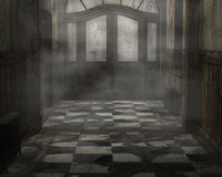 Haunted Asylum Background
