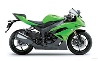 Kawasaki Ninja ZX-6R 2009 Blueprints