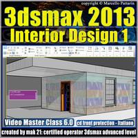 3dsmax 2013 Interior Design v.6 Italiano cd front