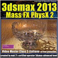 3dsmax 2013 Mass Fx PhysX v.3.0 Italiano_cd front