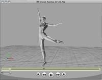 dancing girl (Nastya) take 02