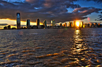 NEW JERSEY DOWNTOWN SUNSET [NEW JERSEY, NEW JERSEY]
