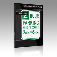 Parking Signs Texture Pack 2