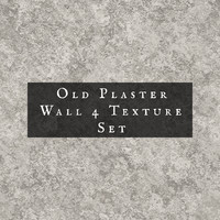 Old Plaster Texture Set