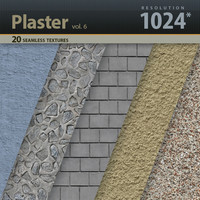 Wall Plaster Textures vol.6