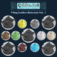 CADartet V-Ray Leather Materials Vol1