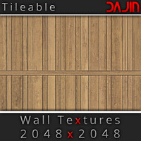 Wood Wall Tileable Nr 3 2048x2048
