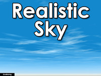 Sky 049 - Realistic Horizon