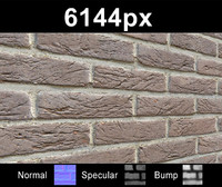 Brick Wall 01 - Hi Res Set
