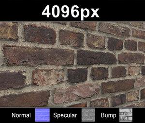 Brick 04 Old Wall - Hi Res Set