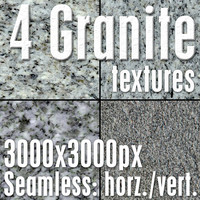 4 High Res Seamless Granite Textures Vol.01 part1