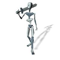 Swordman smart walk forward loop