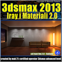3ds max 2013 Iray Materiali Italiano cd front Vol 2_cd front
