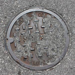 Manhole Cover Paved