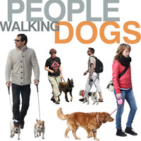 People walking dogs collection