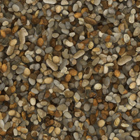River Rock Floor Material