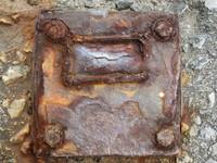 rusty foot