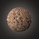 Pebble gravel
