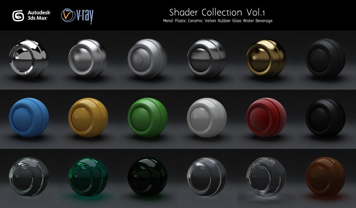 Materials Other Set Vray Vol