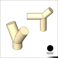 Pipe Y-Fitting 01394se