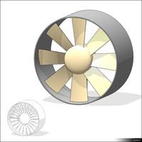 Axial Flow Fan 01395se