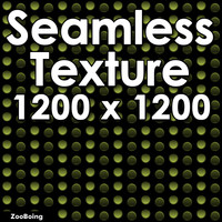 Green Dots - Seamless Texture