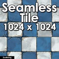 Tile 017 - Cracked Tile