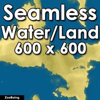 Water 032 - World Map
