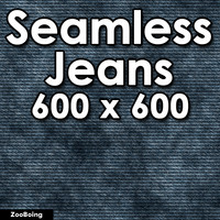 Cloth 009 - Blue Jeans - Seamless